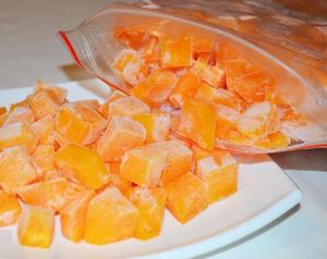 Заморозка свежей тыквы