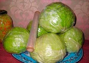 Способ сохранить капусту